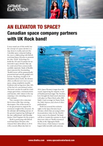 Space Elevator Thoth Press Release