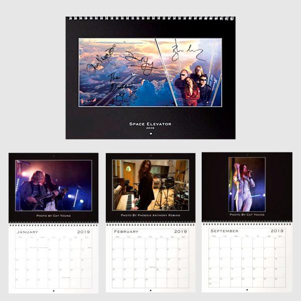 Space Elevator 2019 Calendar